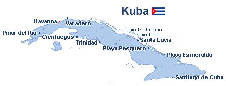 Karte Kuba Varadero.Reisen Kuba Günstig Buchen Reisen De