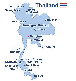 Thailand Inseln Karte.Reisen Thailand Günstig Buchen Reisen De